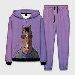 Костюм мужской Конь БоДжек цвета 3D-черный — фото 1