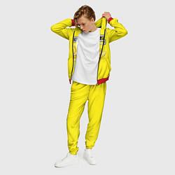 Костюм мужской Brazzers: Yellow Banana цвета 3D-красный — фото 2