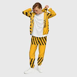 Костюм мужской Off-White: Yellow Style цвета 3D-белый — фото 2