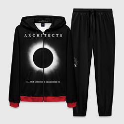 Костюм мужской Architects: Black Eclipse цвета 3D-красный — фото 1