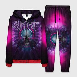Костюм мужской Slipknot: Neon Skull цвета 3D-красный — фото 1