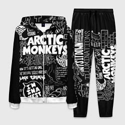 Костюм мужской Arctic Monkeys: I'm in a Vest цвета 3D-белый — фото 1