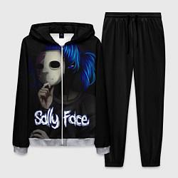 Костюм мужской Sally Face: Dark Mask цвета 3D-меланж — фото 1