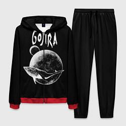 Костюм мужской Gojira: Space цвета 3D-красный — фото 1