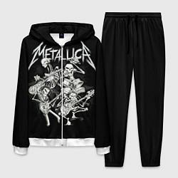 Костюм мужской Metallica: Bones Rock цвета 3D-белый — фото 1