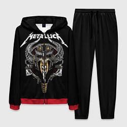 Костюм мужской Metallica: Hard Metal цвета 3D-красный — фото 1