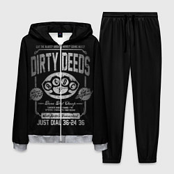 Костюм мужской AC/DC: Dirty Deeds цвета 3D-меланж — фото 1