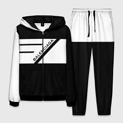 Костюм мужской Balenciaga: B&W цвета 3D-черный — фото 1