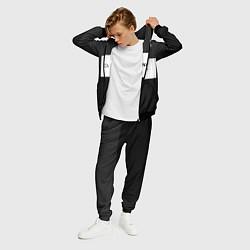 Костюм мужской Balenciaga: Black Style цвета 3D-черный — фото 2