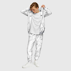 Костюм мужской Balenciaga: White Style цвета 3D-меланж — фото 2