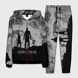 Костюм мужской God of War: Grey Day цвета 3D-черный — фото 1