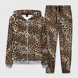 Костюм мужской Шкура леопарда цвета 3D-меланж — фото 1