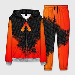 Костюм мужской Apex Legends: Orange Flame цвета 3D-меланж — фото 1