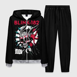 Костюм мужской Blink-182: Death Punk цвета 3D-меланж — фото 1
