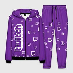 Костюм мужской Twitch TV цвета 3D-черный — фото 1