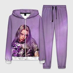 Костюм мужской Billie Eilish: Violet Fashion цвета 3D-белый — фото 1