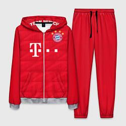 Костюм мужской FC Bayern: Home 19-20 цвета 3D-меланж — фото 1