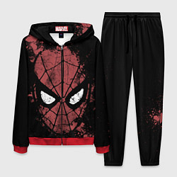 Костюм мужской Spider-man Splashes цвета 3D-красный — фото 1