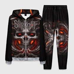 Костюм мужской Slipknot: Hell Skull цвета 3D-меланж — фото 1