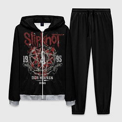 Костюм мужской Slipknot 1995 цвета 3D-меланж — фото 1