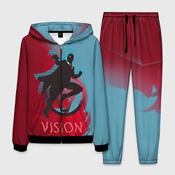Костюм мужской Vision Duo цвета 3D-черный — фото 1