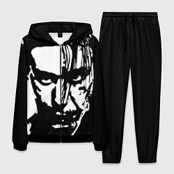 Костюм мужской Till Lindemann: Black Face цвета 3D-черный — фото 1