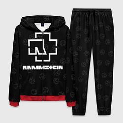 Костюм мужской Rammstein 1 цвета 3D-красный — фото 1