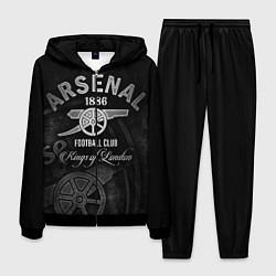 Костюм мужской Arsenal цвета 3D-черный — фото 1