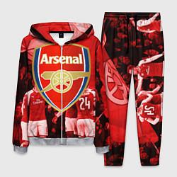 Костюм мужской Arsenal цвета 3D-меланж — фото 1