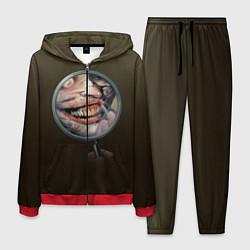 Костюм мужской Joker Smile цвета 3D-красный — фото 1