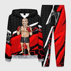 Костюм мужской Боксёр цвета 3D-меланж — фото 1