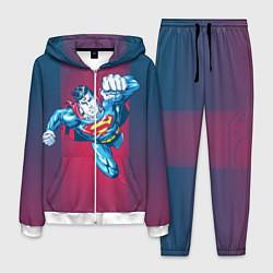 Костюм мужской Superman цвета 3D-белый — фото 1