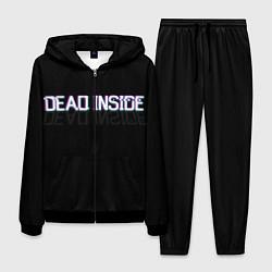 Костюм мужской Dead Inside цвета 3D-черный — фото 1