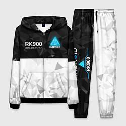 Костюм мужской RK900 CONNOR цвета 3D-черный — фото 1