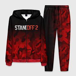 Костюм мужской STANDOFF 2 цвета 3D-красный — фото 1