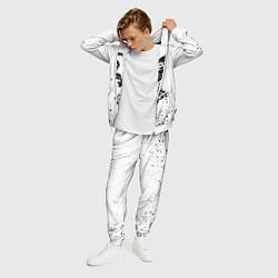 Костюм мужской My Chemical Romance цвета 3D-белый — фото 2
