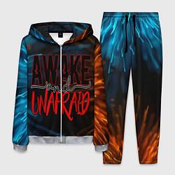 Костюм мужской Awake unafraid цвета 3D-меланж — фото 1
