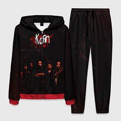 Костюм мужской Korn цвета 3D-красный — фото 1