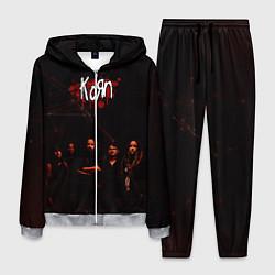 Костюм мужской Korn цвета 3D-меланж — фото 1
