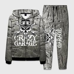 Костюм мужской Crazy garage цвета 3D-черный — фото 1