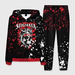 Костюм мужской Stigmata цвета 3D-красный — фото 1