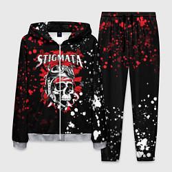 Костюм мужской Stigmata цвета 3D-меланж — фото 1