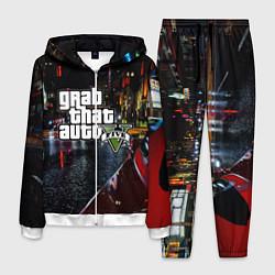 Костюм мужской Grand Theft Auto V цвета 3D-белый — фото 1
