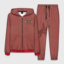 Костюм мужской Quidditch цвета 3D-красный — фото 1