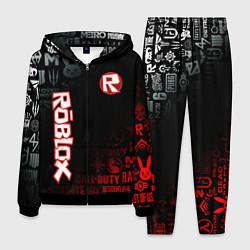 Костюм мужской ROBLOX цвета 3D-черный — фото 1