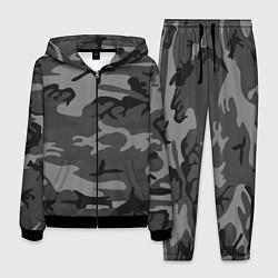 Костюм мужской Военный камуфляж цвета 3D-черный — фото 1