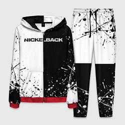 Костюм мужской Nickelback цвета 3D-красный — фото 1