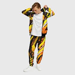 Костюм мужской Bona Fide Одежда для фитнеcа цвета 3D-черный — фото 2