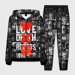 Костюм мужской LOVE DEATH ROBOTS LDR цвета 3D-черный — фото 1
