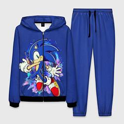Костюм мужской Sonic цвета 3D-черный — фото 1
